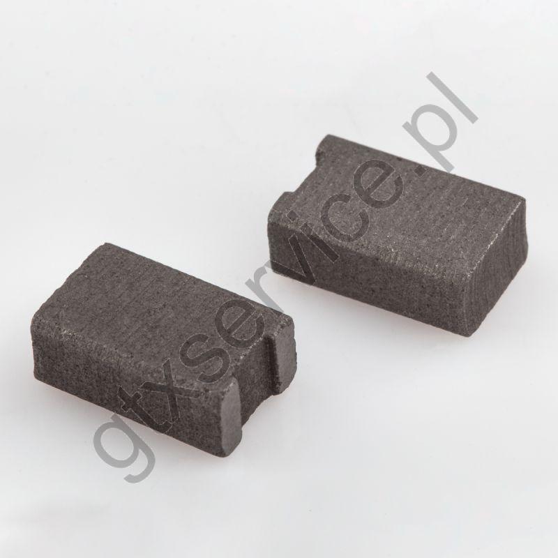 Szczotki węglowe 8x5x13 końcówka X0 (kpl)