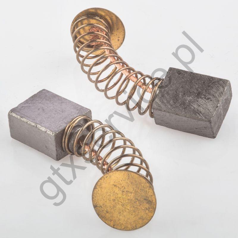 Szczotki węglowe 11x7x13 końcówka X7 (kpl)