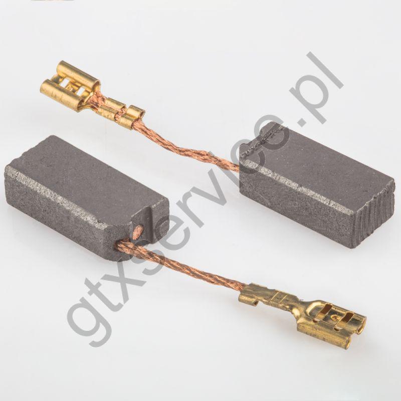 Szczotki węglowe 10x6x20 końcówka X6 (kpl)