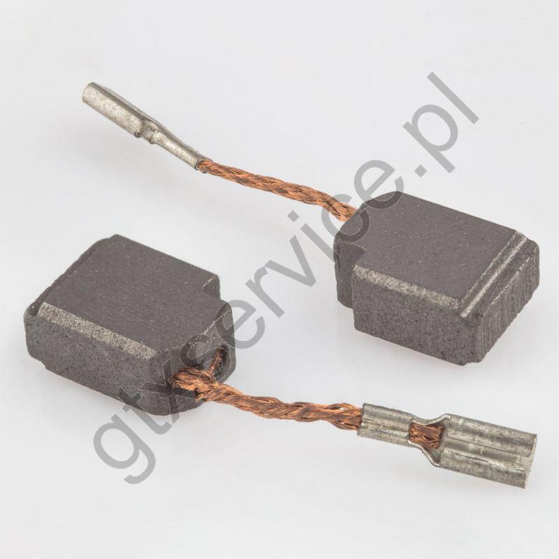 Szczotki węglowe 10x6x13 końcówka X6 (kpl)