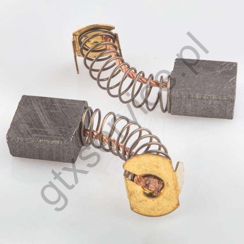 Szczotki węglowe 13x6x15 końcówka X3 (kpl)