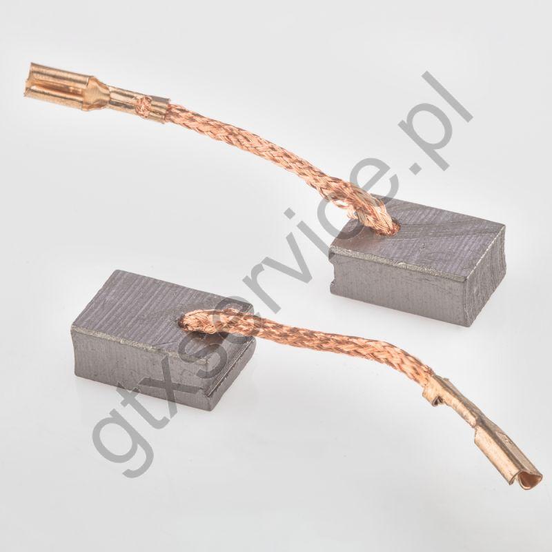 Szczotki węglowe 10x6x14 końcówka X6 (kpl)