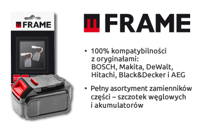 części zamienne Frame